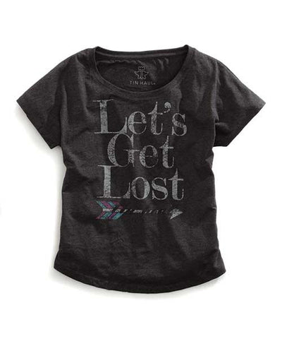 Ladies Tin Haul Let's Get Lost Shirt 10-039-0501-0845