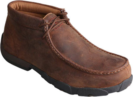 Men's Twisted X Driving Mocs D Toe Peanut  (Met Guard) MDMSM01