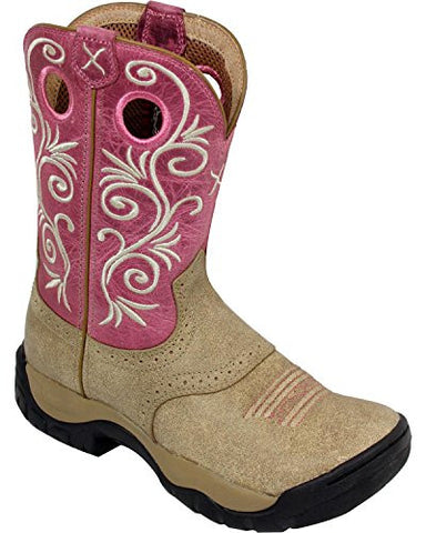 Ladies Twisted X Pink All Around Boots WAB0006