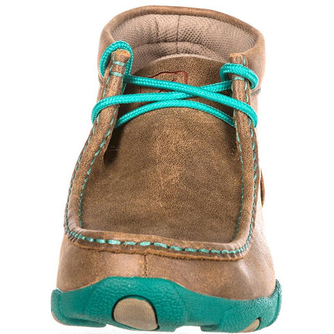 Ladies Twisted X Driving Mocs Bomber / Turquoise WDM0020