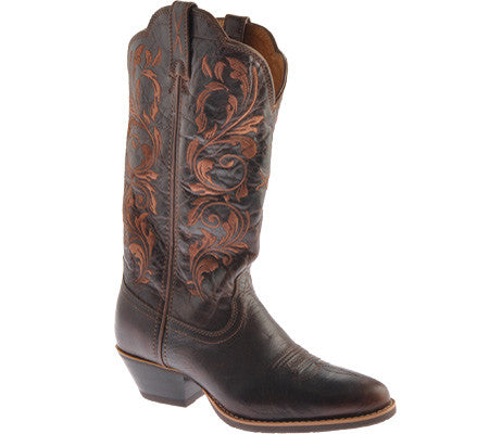 "Ladies Twisted X Boots Western 12"" Chocolate / Chocolate WWT0032"