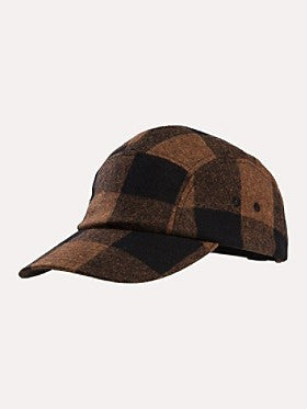 Pendleton Hat Brown / Black Buffalo Check 5-Panel AB751-31840