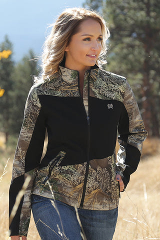 Ladies Cinch Hybrid Bonded Camo Jacket MUJ3002001 NEW