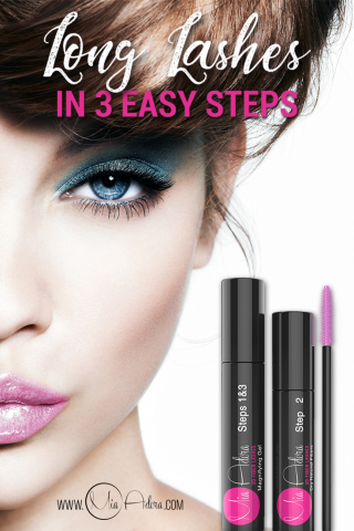 Black 3D Fiber Lash Mascara for New Prom Dress Season Simple Makeup Review