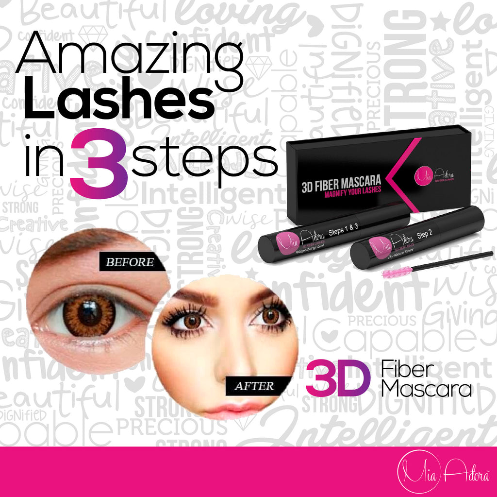 Best 3D Fiber Lash Mascara Kit for National Piña Colada Day in Ohio