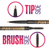 How to Properly Groom Thick and Bushy Eyebrows using Eyebrow Pencil