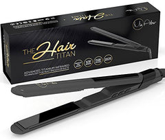 Professional Titanium Hair Straightener with Infrared Technology