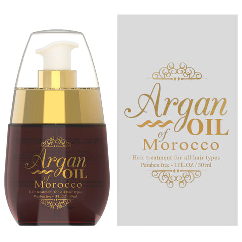 Natural Moroccan Oil For Hair by Mia Adora