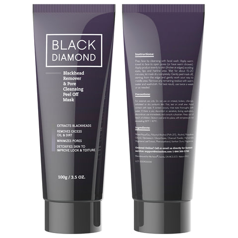 Charcoal Blackhead Remover Mud Mask with Witch Hazel