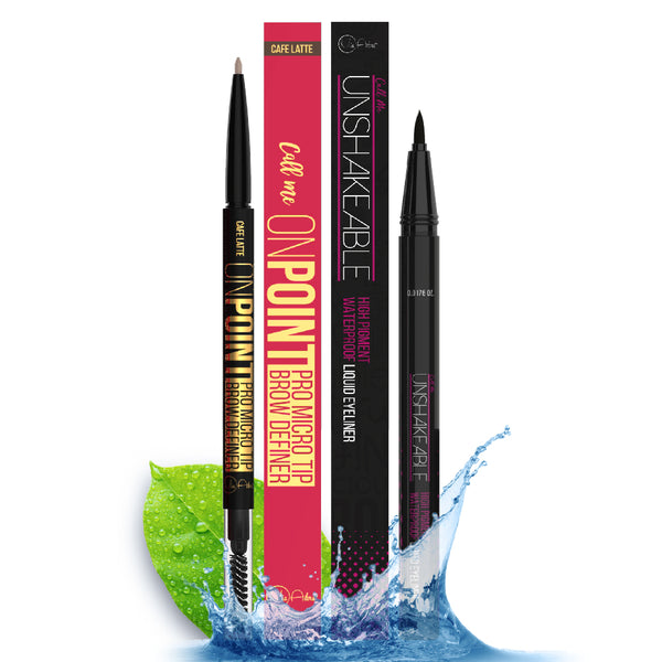 Limited Time - On Point Eyebrow Pencil & Unshakeable Eyeliner
