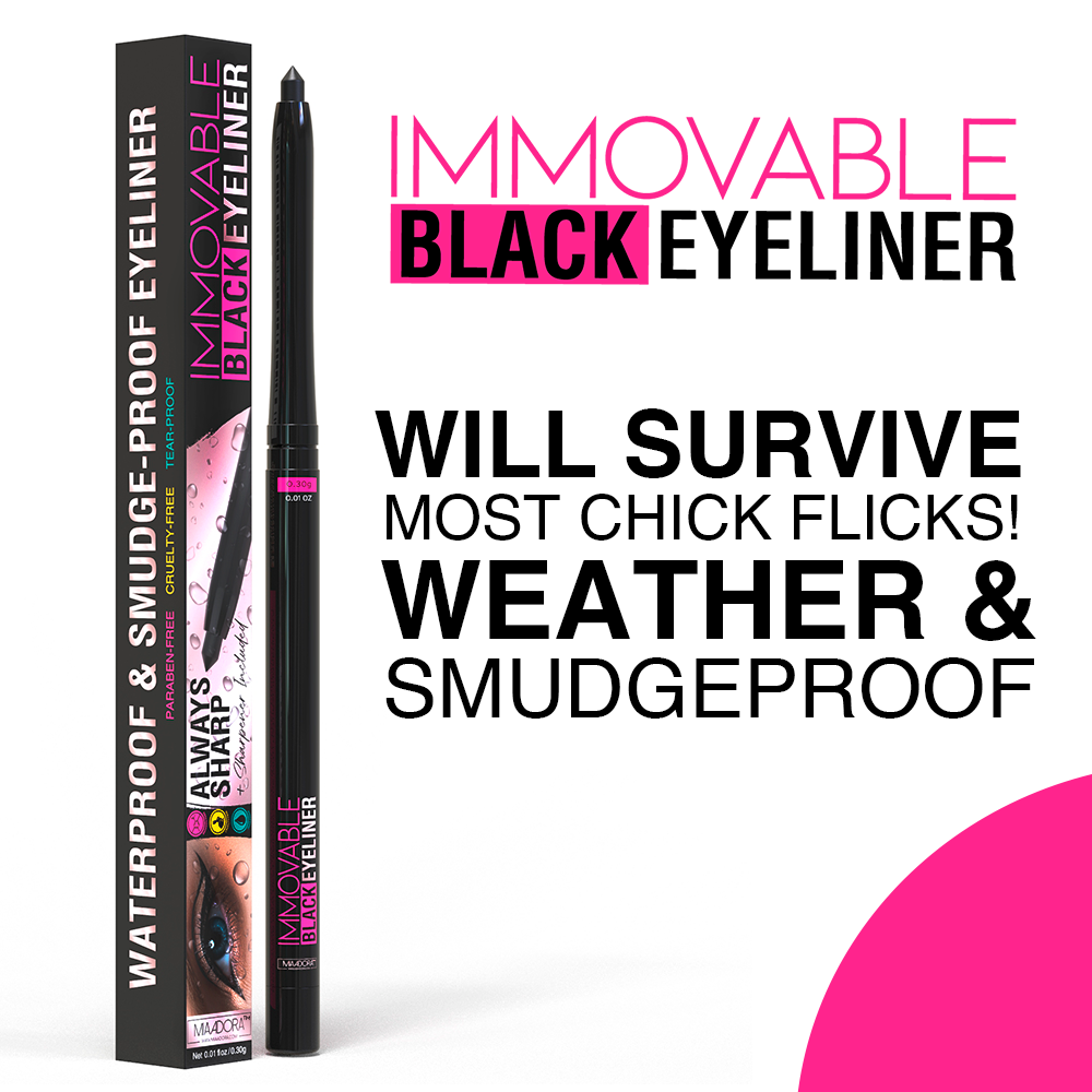 Immovable - Best Black Waterproof Eyeliner Pencil