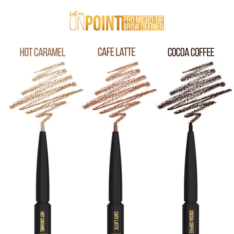 On Point - Eyebrow Pencil - COCOA COFFEE