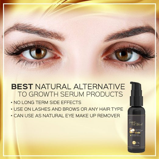 Super Oil Blend - Natural Eyelash & Eyebrow Regrowth Serum