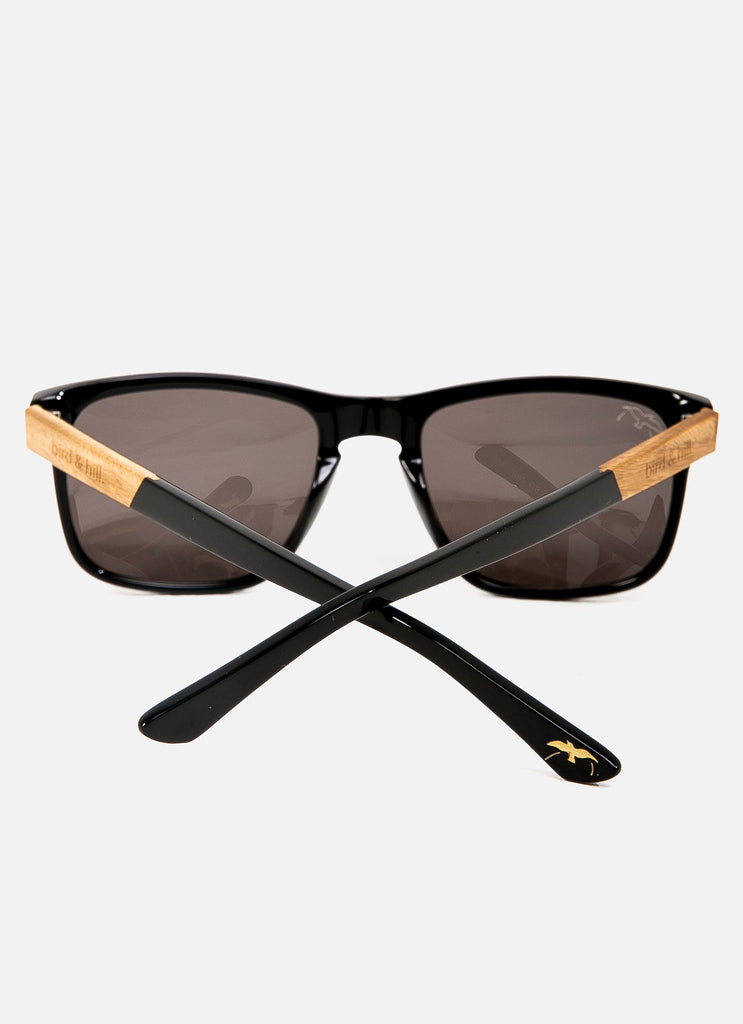 gloss black sunglasses sustainable