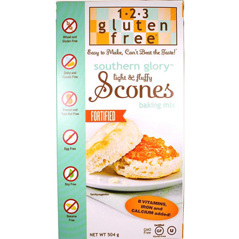 1-2-3 Gluten Free Southern Glory Scones Mix (504g)