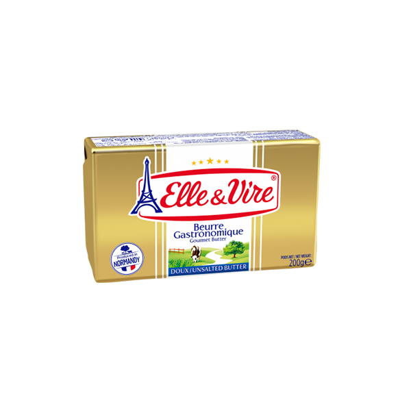 Elle Et Vire Pasteurised Unsalted Butter Pack