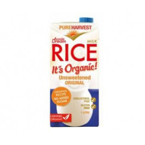 Organic Rice Unsweetened Original (1L)