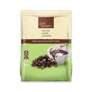 Dark Chocolate Baking Buttons (300g)