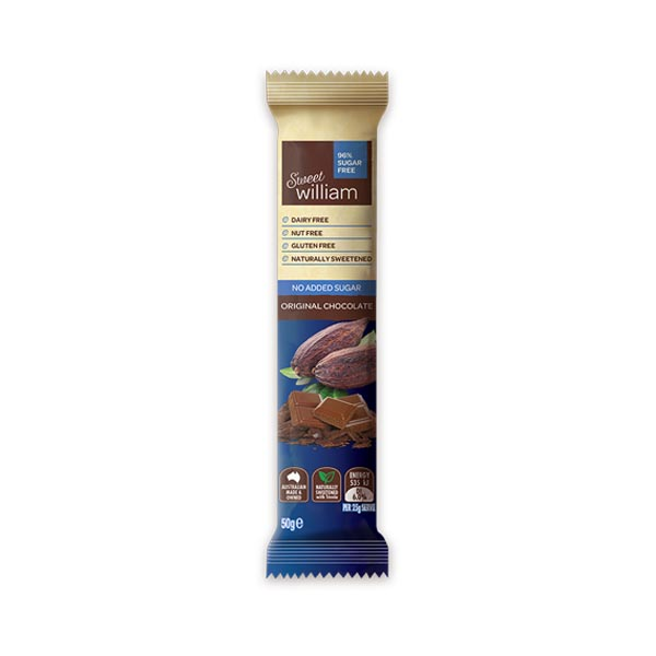 Dark Chocolate No Added Sugar (50g)