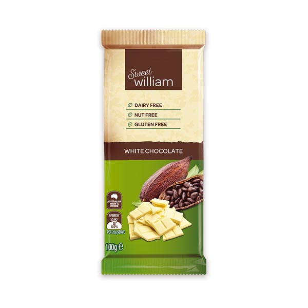 Sweet William White Chocolate (100g)