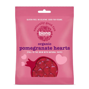 Pomegranate Heart Sweets (75g)