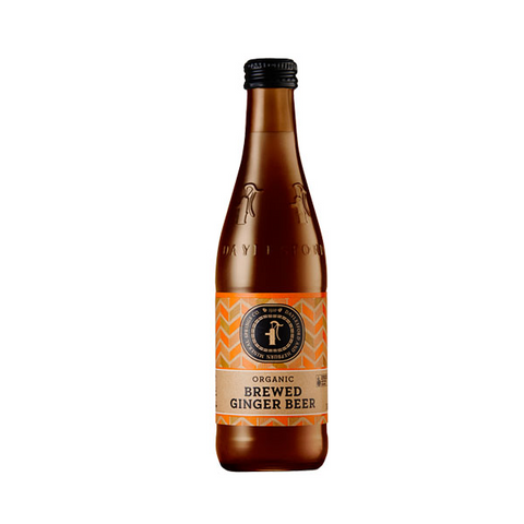 Organic Brewed Ginger Beer (300ml)