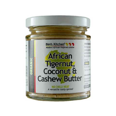 Bim's Kitchen Organic African Tigernut, Coconut and Cashew Butter