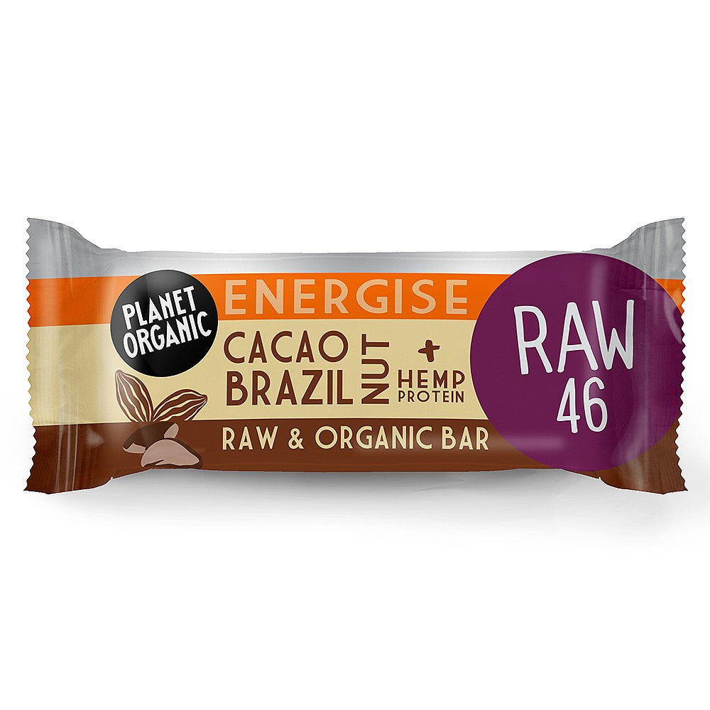 Energise Cacao Brazil Nut Raw Bar (30g)