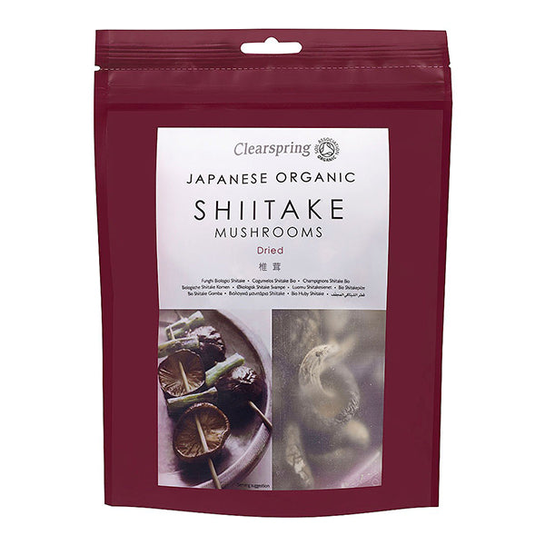 Organic Shiitake Mushrooms (40g)