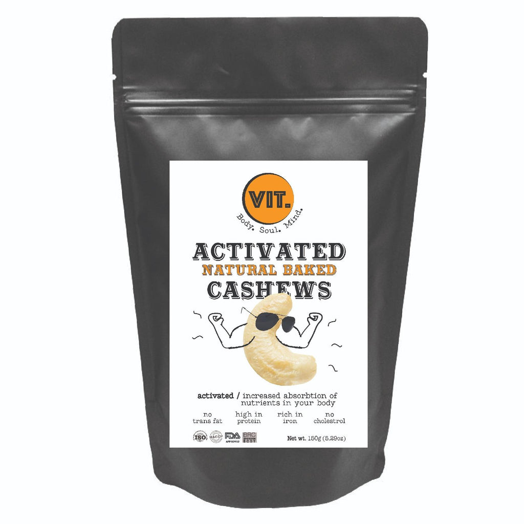 Activated Natural Baked Cashews (150g)