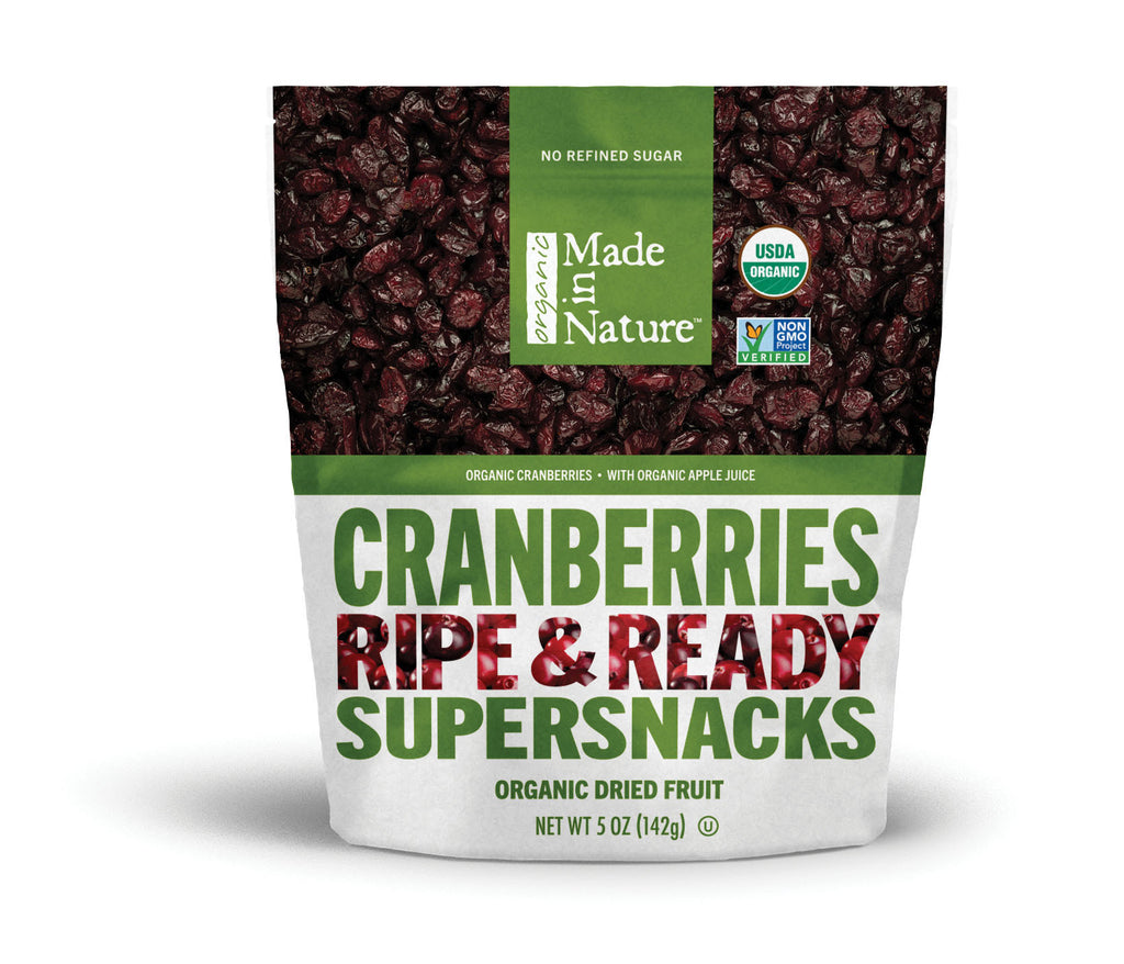 Organic Dried Cranberries (USA) (142g)