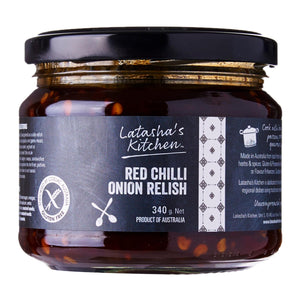 Red Chilli Onion Relish (340g)