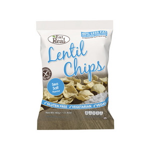 Eat Real Lentil Sea Salted Chips