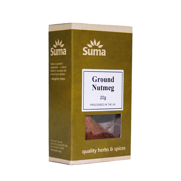 Suma Organic Ground Nutmeg