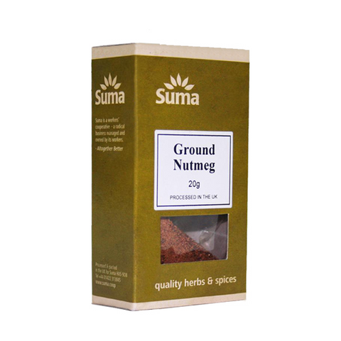Organic Ground Nutmeg (20g)