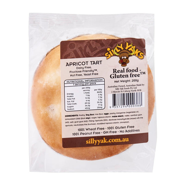 Apricot Tart - Lunch Size (200g)