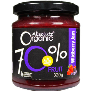 70% Wildberry Jam (320g)