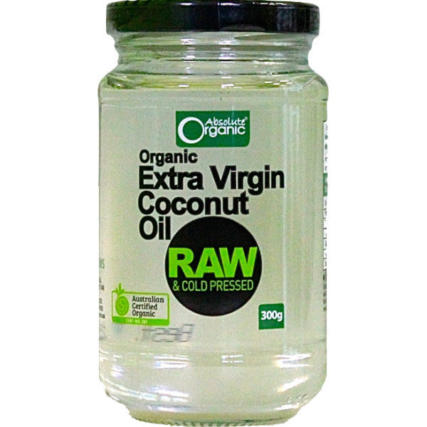 Absolute Organic Coconut Oil - Extra Virgin 300g