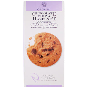 Organic Chocolate Chip & Hazelnut Cookies (150g)