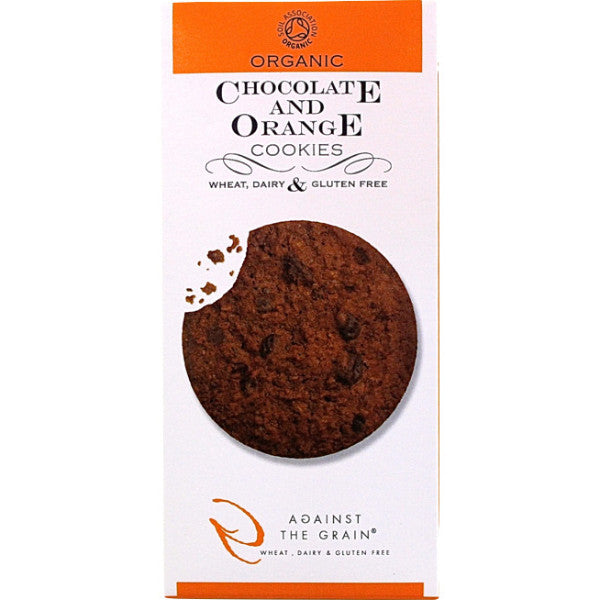 Against The Grain Organic Chocolate & Orange Cookies 150g
