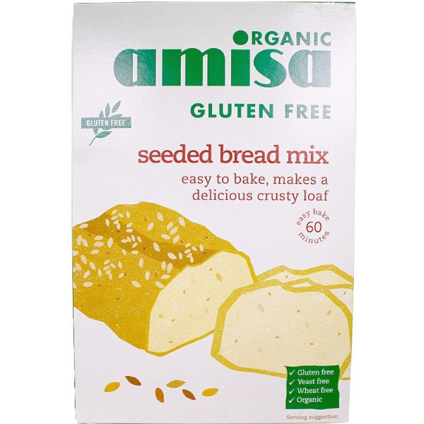 Seeded Bread Mix - Organic (500g)