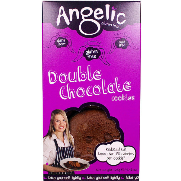 Angelic Gluten Free Double Chocolate Cookies (125g)