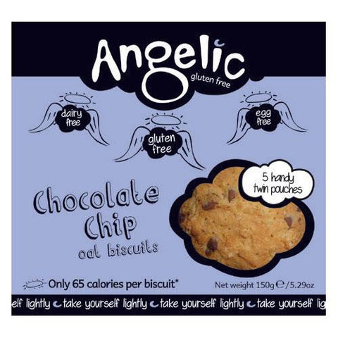 Angelic Gluten Free Chocolate Chip Biscuits (150g)