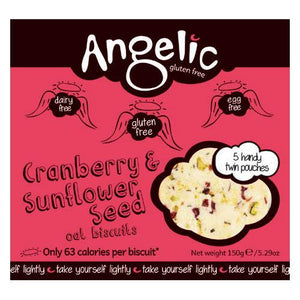 GFree Cranberry & Sunflower Biscuits (150g)