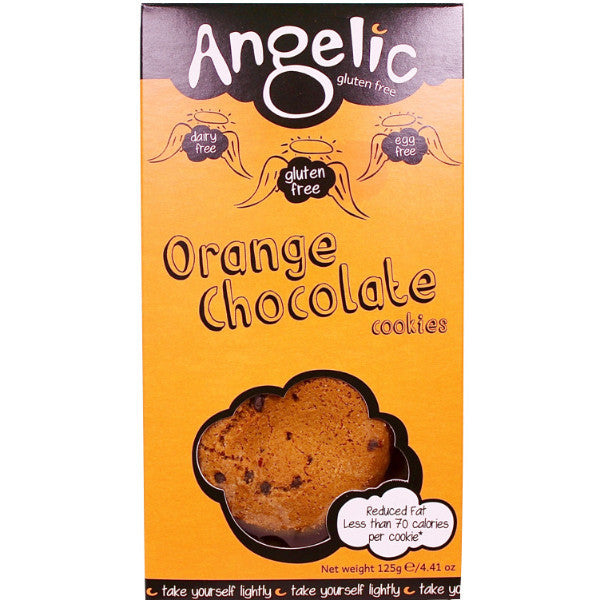 Angelic Gluten Free Orange Chocolate Cookies 125g