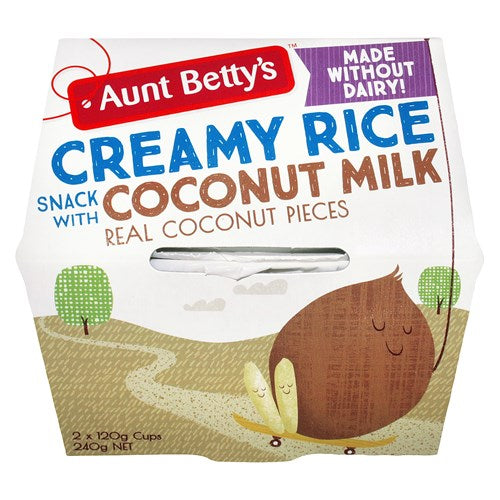 Creamy Rice Coconut (120g)
