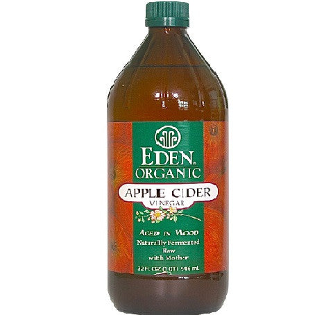 Eden Organic Raw Apple Cider Vinegar 32oz / 946 ml