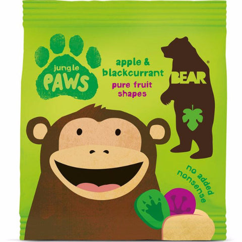 Bear Paws Jungle - Apple & Blackcurrant (20g)