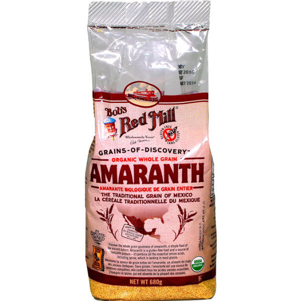 Bob's Red Mill Organic Amaranth Grain 680g
