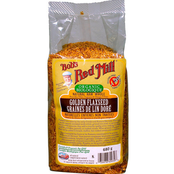 Bob's Red Mill Organic Golden Flaxseed 680g